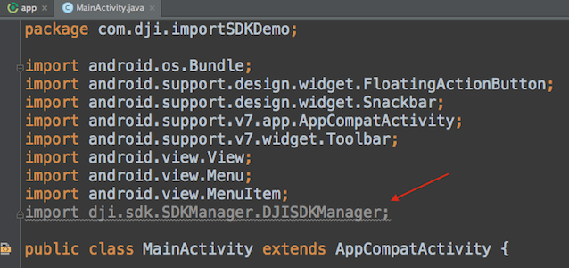 Importing and Activating DJI SDK in Android Studio Project